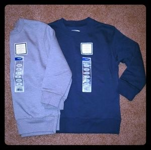 Other - Gray and navy sweat shirts